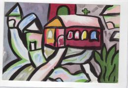 Peintures Libres D´enfants, L´église - Ed Ecole Moderne 8 - Laucher/Dufour/Beauvais - Flamme Perpignan - Coq Decaris - Pittura & Quadri
