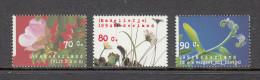 Nederland 1994 Nr 1601-1603 Natuur En Milieu Flowersm Roos, Madeliefje, Vergeet Mij Niet - Ongebruikt