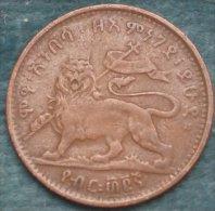 M_p> Etiopia 1/32 Birr 1889 ( 1897 ) Bella Conservazione - Etiopia
