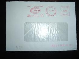 LETTRE EMA T 86189 à 0080 Du 4 4 78 LA GARENNE COLOMBES (92) + GLOBE + OUTILS PNEUMATIQUES - Astrology