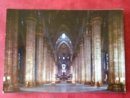 Italia Milano Duomo Di Milano. Visione Prospettica Della Navata Centrale - Milano (Milan)