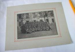 43 HAUTE LOIRE LE PUY VELAY SUPERBE PHOTO DE GROUPE 86e REGIMENT DANS SA CASERNE Romeuf - Régiments