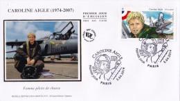 FDC 2014 - Caroline Aigle - 1er Jour Le 05.04.2014 à 75 Paris - FDC