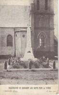 CPA - CRILLON (60) Inauguration Du Monument Aux Morts Le 18 Juin 1922 - Otros Municipios