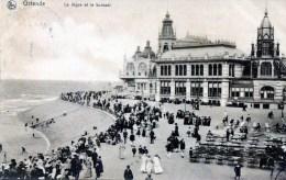 Ostende. La Digue Et Le Kursaal - Oostende