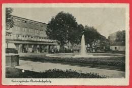 CPA N°9547 / LUDWIGSHAFEN BAHNHOFSPLATZ - Ludwigshafen