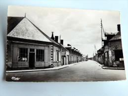 Carte Postale Ancienne : BRINON SUR SAULDRE : Rue De La Jacque - Brinon-sur-Sauldre