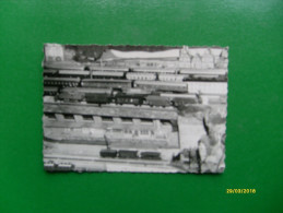 Piccola Fotografia Formato Cm 10  X Cm 6,7 Plastico Ferroviario Epoca - Modeltreinen