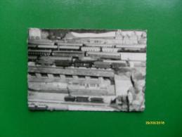Piccola Fotografia Formato Cm 10  X Cm 6,7 Plastico Ferroviario Epoca - Model Railways