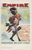 Histoire -  Théâtre Music-Hall Empire Paris Avenue Wagram- Grenadier Napoléon - Historia