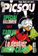 ALBUM PICSOU MAGAZINE N° 345 De Octobre 2000 Papa Duck Est Mort Spécial Halloween - Picsou Magazine