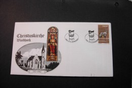 Souh West Africa Lutheran Church Windhoek Special Cancel 1980 A04s - Stamps