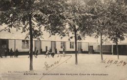 BELGIQUE - HAINAUT - ANTOING - Pensionnat Des Garçons - Cour De Récréations. - Antoing