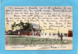 MARCOPHILIE-Carte Postale -American Hatoba-KOBE-pour Françe-via Vladivostok En 1910 - Altri