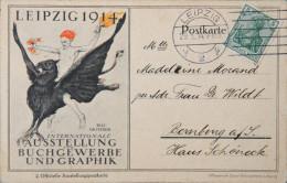 *LEIPZIG 1914 - CPA - Ausstellung Für Buchgewerbe U. Graphik 1914 - Tentoonstellingen
