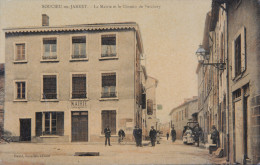 *69 - SOUCIEU En JARRET - CPA - La Mairie Et Le Chemin De Verchery - France