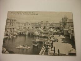 Esposizione Di LONDRA 1908  COURT OF HONOUR FROM CONGRESS HALL FRANCO BRITISH EXHIBITION LONDON - Esposizioni