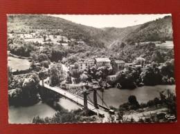 01 Ain SERRIERES DE BRIORD (sur Ain) Nouveau Pont Et Hotel Crozet - Autres Communes