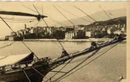 20 BASTIA - Carte-photo Port, Voilier - (Tucarelli à Nice) - Corse - Bastia