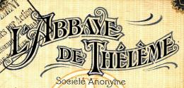 RARE ACTION  L ABBAYE DE THELEME CABARET  RESTAURANT DE PIGALLE 1925 BE TS COUPONS PRESENTS V.DESCRIPT.SCANS+ HISTORIQUE - Cine & Teatro
