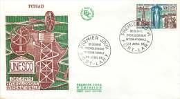 TCHAD  1968  Décennie Hydrologique Internationale  FDC - Chad (1960-...)
