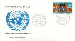 TCHAD  1970  Année Internationale De L'éducation  FDC - Chad (1960-...)