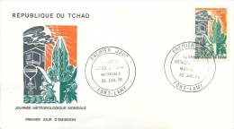 TCHAD  1970  Journée Météorologique Mondiale  FDc - Chad (1960-...)