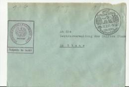 =DE CV 1961 SST - Cartas