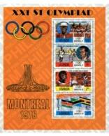 Ref. 54442 * MNH * - UGANDA. 1976. GAMES OF THE XXI OLYMPIAD. MONTREAL 1976 . 21 JUEGOS OLIMPICOS VERANO MONTREAL 1976 - Stamps