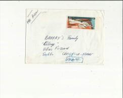 Enveloppe Timbrée   Par Avion  -Adressée A  Mr  Barray´s  Family A Cerisy-la-Foret  50 - Poste Aérienne