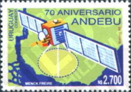 Ref. 297424 * MNH * - URUGUAY. 1992. 70 ANIVERSARIO DE ANDEBU - Space