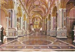 ITALIA- LAZIO- MONTECASSINO : LA CHIESA CATTEDRALE. THE CATHEDRAL CHURCH. CIRCOLATA 1965. Nº F49331. GECKO. - Altre Città