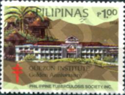 Ref. 313410 * MNH * - PHILIPPINES. 1988. SOCIEDAD FILIPINAS CONTRA LA TUBERCULOSIS - Architecture