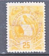 GUATAMALA  106  (o)   1900-02  Issue - Guatemala