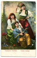 Türkische Trachten, Turska Nosnja, 3 Frauen, Tracht, Folk Costume, Brod 1917 - Türkei