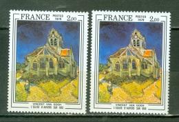 France    2054   * * TB  Avec Nuances De Couleur  Une Dominante Verte Et L'autre Jaune - Varieteiten: 1970-79 Postfris