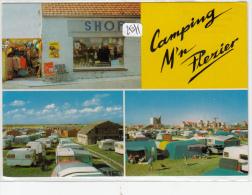 """CPM  GF - Belgique - Middelkerke - Camping """"M'N PLEZIER"""" - Middelkerke"""