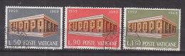PGL CA559 - VATICAN Yv N°488/90 EUROPA CEPT - 1969