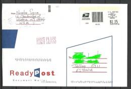 USA 2014 Letter To Estonia Estland Estonie - Etats-Unis