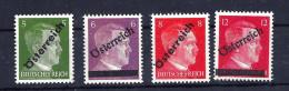 Mi. Nr, 660 - 663 Postfrisch - Ungebraucht