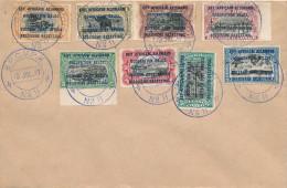 327/22 - Occupation Belge EST AFRICAIN - Série 28/35 Cachet BPCVPK No 11 1917 S/ Enveloppe Vierge - Ruanda-Urundi