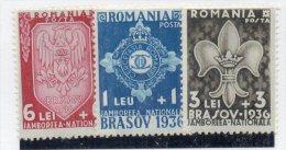 Serie Nº 505/7 Rumania - Movimiento Scout