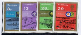 Serie Nº 253/6 Guersney - Movimiento Scout