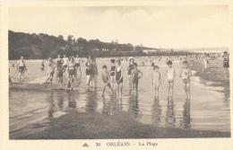 Orléans - La Plage - Carte C.A.P Non Circulée - Orleans