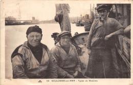 ¤¤   -   131   -  BOULOGNE-sur-MER   -  Types De Matelots  -  Marins   -  ¤¤ - Boulogne Sur Mer