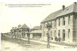Grugny. Le Quartier Des Vieillards Dans L´etablissement Departemental D´asistance à Grugny. - France
