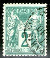 N°74 Oblitéré     - Cote 30€ -