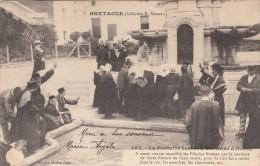Thematiques 56 Saint Anne D'Auray La Fontaine Sacrée Ecrite Timbrée 09 08 1905 - Sainte Anne D'Auray
