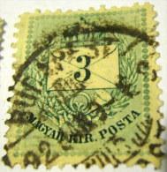 Hungary 1874 Envelope 3k - Used - Hungary