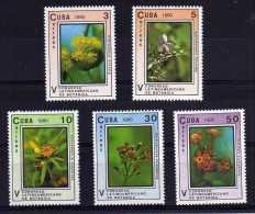 Cuba - 1990 - 5th Latin American Botanical Congress - MNH - Cuba